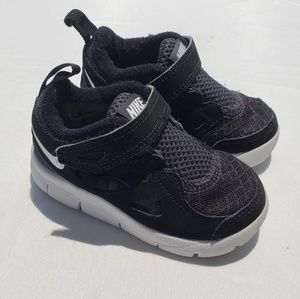 Nike Free Run 2 Shoes Sz 5 Toddler Black Athletic